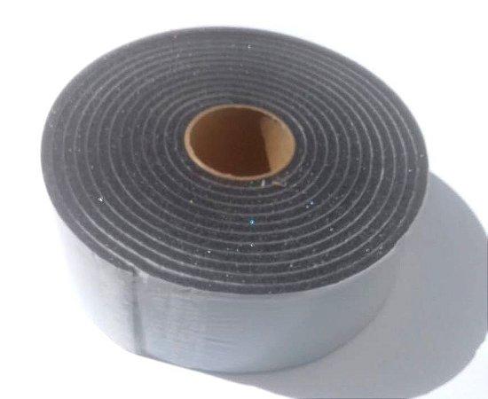 Fita de Vedação em Espuma de Poliuretano Cinza - 5mm x 60mm x 5m