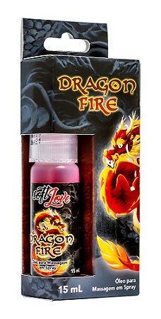 DRAGON FIRE ÓLEO MASSAGEM SPRAY 15mL