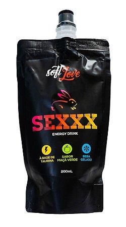 SEXXX ENERGY DRINK MAÇÃ VERDE 200mL