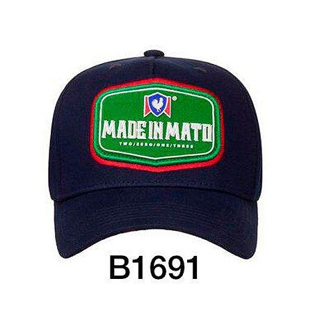 Boné Snapback Green B1691 - Made In Mato