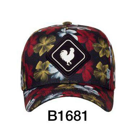 Boné Snapback Flowers B1681 - Made In Mato