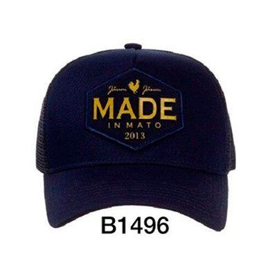 Boné Trucker Rooster Ouro Blue B1496 - Made In Mato