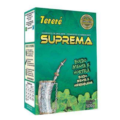 Erva Mate Tereré Boldo Menta E Hortelã 500 G - Suprema