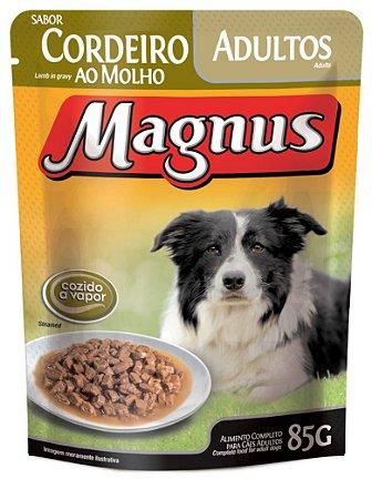 Magnus Sachê Cães Adultos Cordeiro 85 Gr