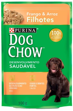 Dog Chow Sachê Filhote Frango & Arroz