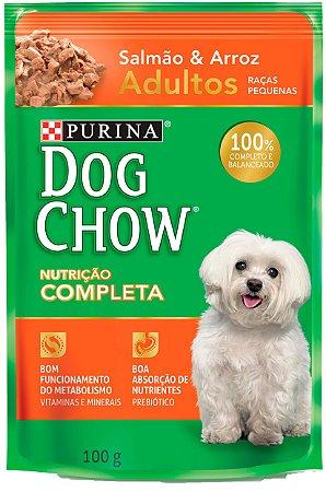 Dog Chow Sachê Ad Salmao & Arroz