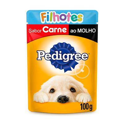 Pedigree Sachê Filhotes Carne 100gr
