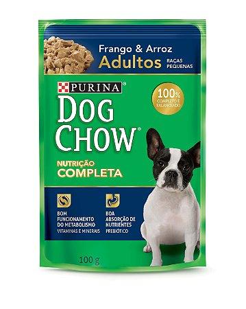 Dog Chow Sachê Ad Raças Pequenas Frango & Arroz 100gr