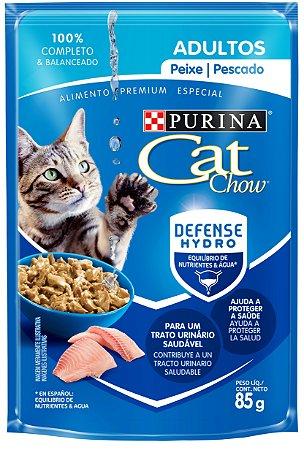 Cat Chow Sachê Adultos Peixe 85 Gr