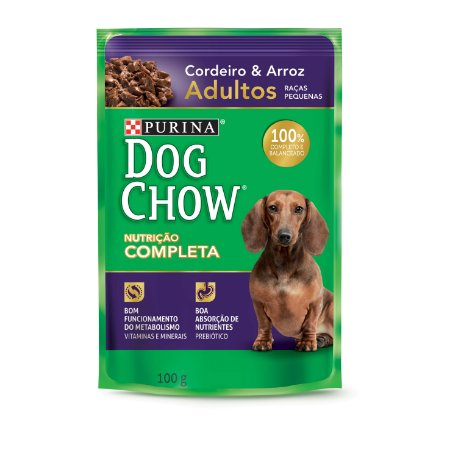 Dog Chow Sachê Ad Cordeiro & Arroz