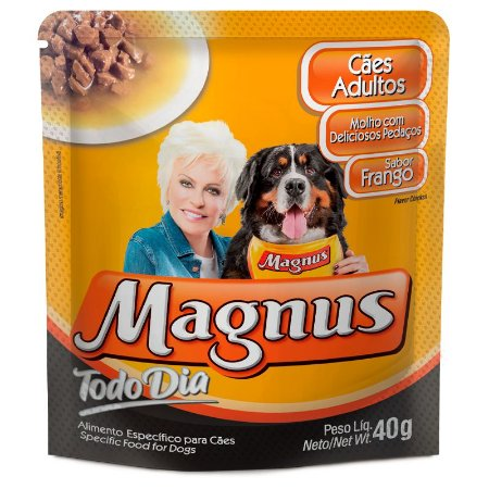 Magnus Sachê Cães T D Adulto Frango 40gr