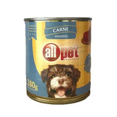 Enlatado Cão Sabor Carne Filhotes 280g - All Pet