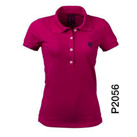 Polo Feminina Pink P2056 - Made In Mato