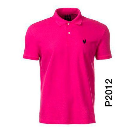 Polo Masculina Pink P2012 - Made In Mato