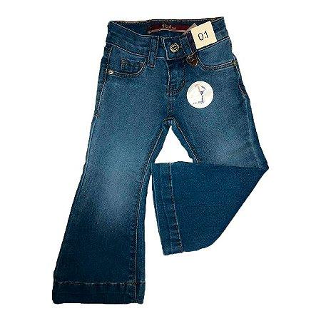 Calça Post Jeans Infantil Flare Ref. 8400102