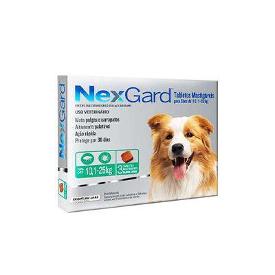 Nexgard 3 Tabletes Caes 10,1 A 25 kg 3 G