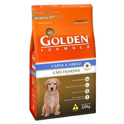 Golden Fórmula Cães Filhotes Carne