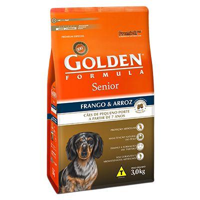 Golden Fórmula Cães Adultos Mini Bits Senior 7+
