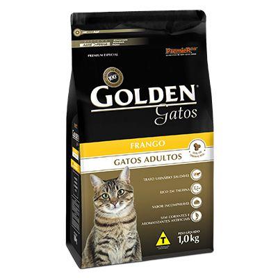 Golden Gatos Adultos Frango