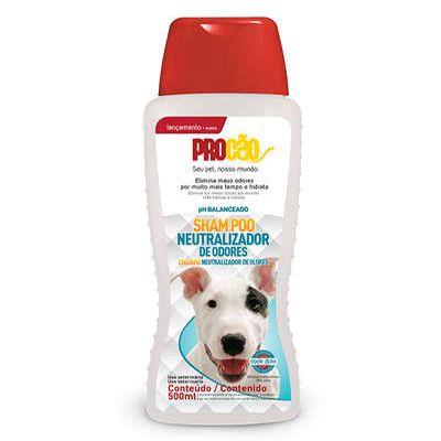Procão Shampoo Cães e Gatos Neutralizador Odores 500 Ml
