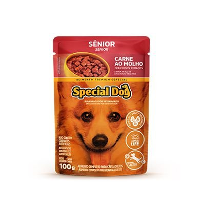 Special Dog Sachê Senior Carne 100gr