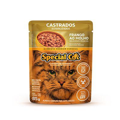 Special Cat Sachê Castrado Frango 85gr