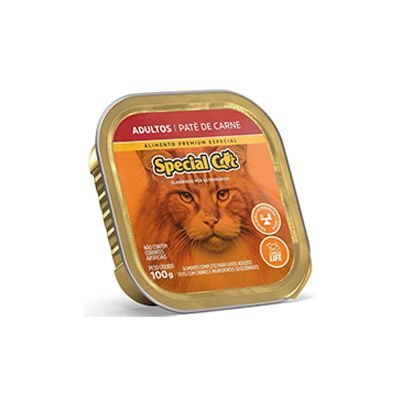 Special Cat Patê Adulto Carne 100gr