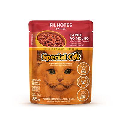 Special Cat Sachê Filhote Carne 85gr