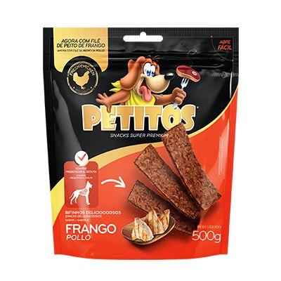 Petitos Bifinho Frango 500 Gr