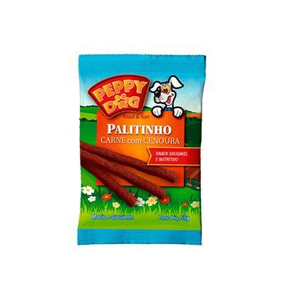 Peppy Dog Palitinho Carne C/ Cenoura 55 Gr