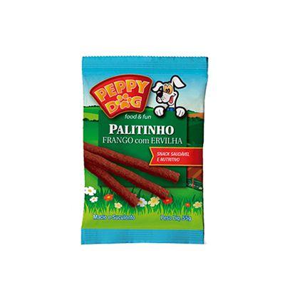 Peppy Dog Palitinho Frango C/ Ervilha 55 Gr