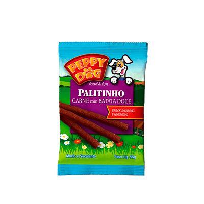 Peppy Dog Palitinho Carne C/ Batata 55 Gr