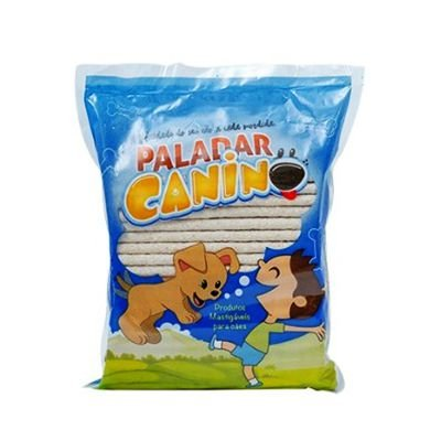 Osso Palito 08 Mm Natural 1 Kg Paladar Canino