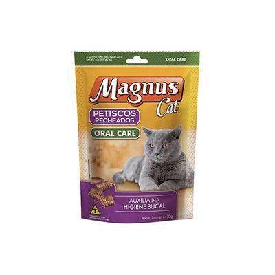 Magnus Cat Petiscos Recheados Oral 30g
