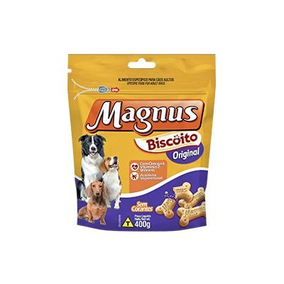 Magnus Biscoito Original 400 gr