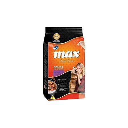 Max Caes Soft Croc Carne Adultos Raças Pequenas