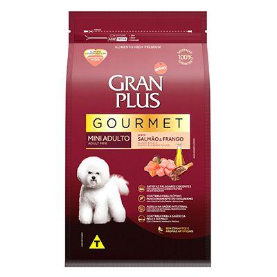 Granplus Gourmet Adulto Mini Salmão e Arroz