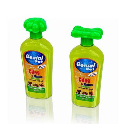 Shampoo Genial Cães e Gatos Citronela 500ml