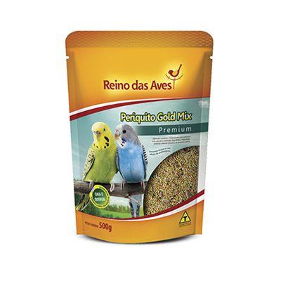 Reindo das Aves - Periquito Gold Mix 500 g