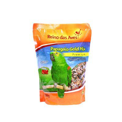 Reino das Aves - Papagaio Gold Mix 500 g