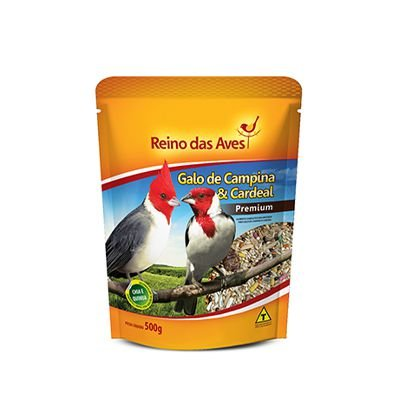 Reino das Aves - Galo Campina e Cardeal 500 g