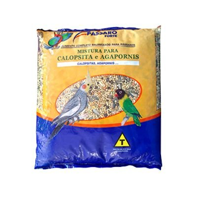 Mistura Calopsita/Agapornis Plus 30 Kg