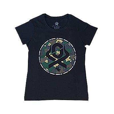 T-Shirt Preta Ref. 6089 - Ox Horns