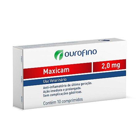 Maxicam 2,0 MG C/ 10 Comprimidos