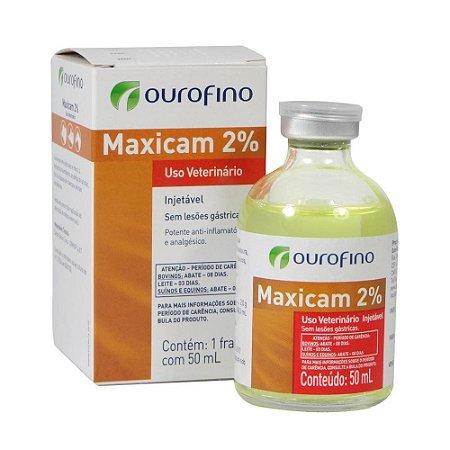 Maxicam 2% Injetável 50 ML