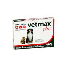 Vetmax Plus 700 MG C/ 4 Comprimidos