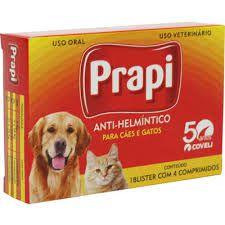 Prapi C/ 4 Comprimidos