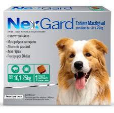 Nexgard Cães de 10,1 A 25 kg 68 MG