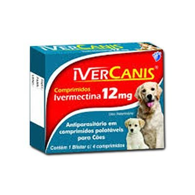 Ivermectina 12 MG Ivercanis - Caixa
