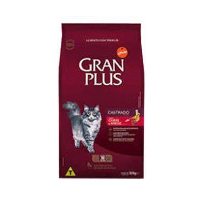 Granplus Gato Castrado Carne e Arroz